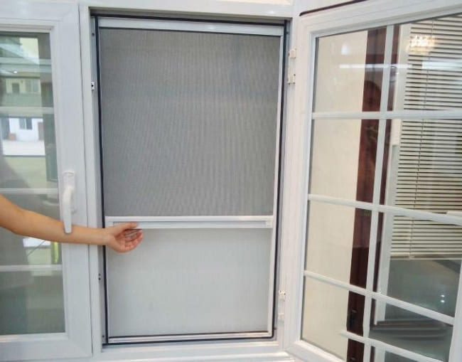 cửa lưới chống muỗi chống côn trung vttc14